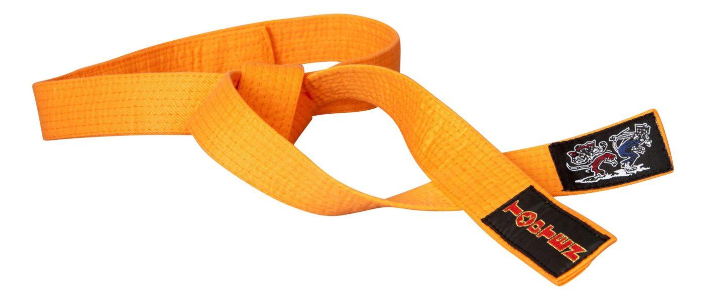 """Karateband """"KAMPFKATZEN"""" Oranje"""