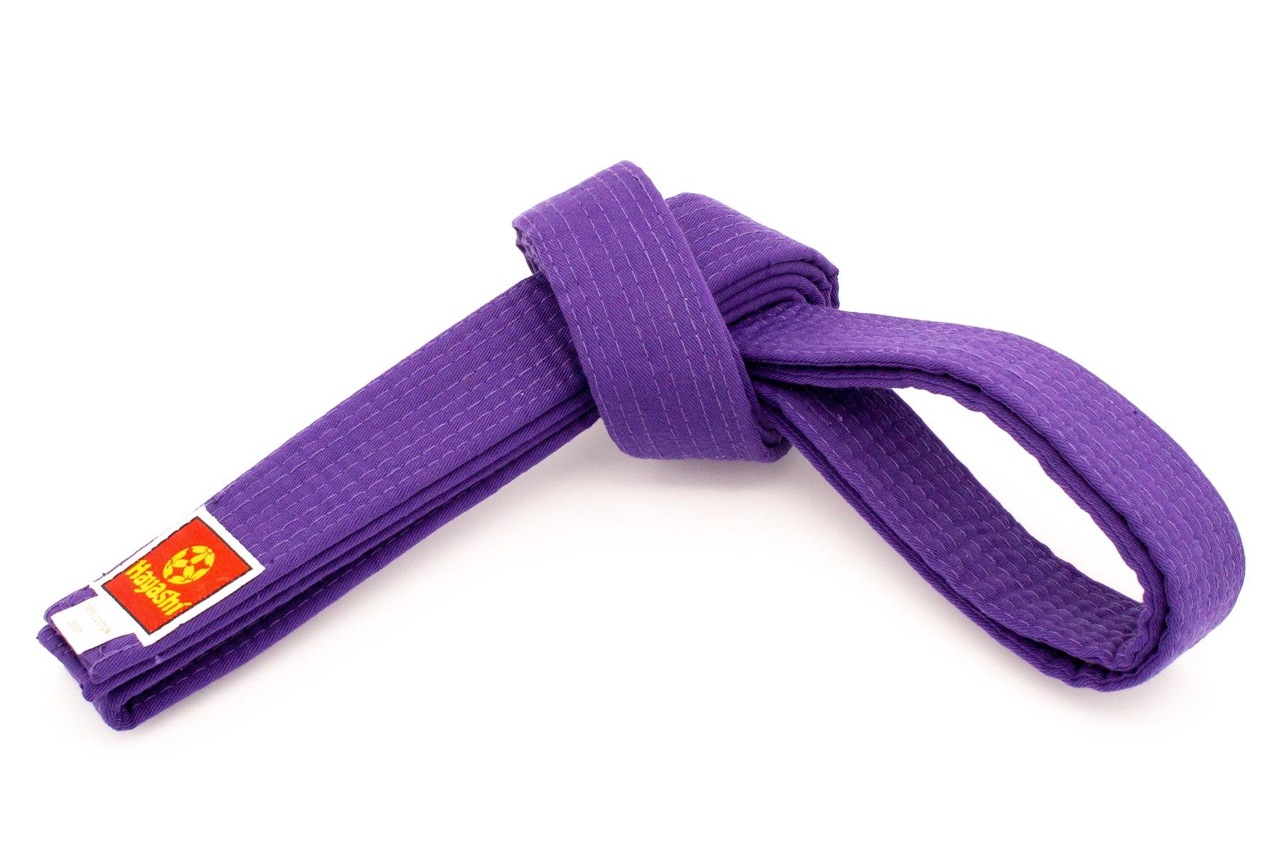 Hayashi Karateband Paars