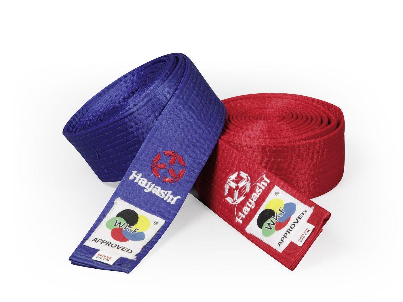 Hayashi Karateband (met WKF label) Rood