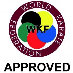 Hayashi Karateband (met WKF label) Zwart
