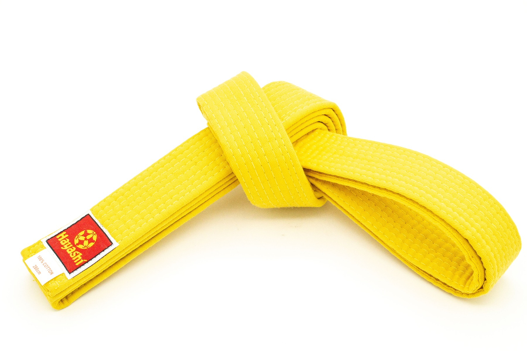 Hayashi Karateband Geel