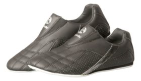 "Martial Arts schoenen ""Stripe"" Zwart"