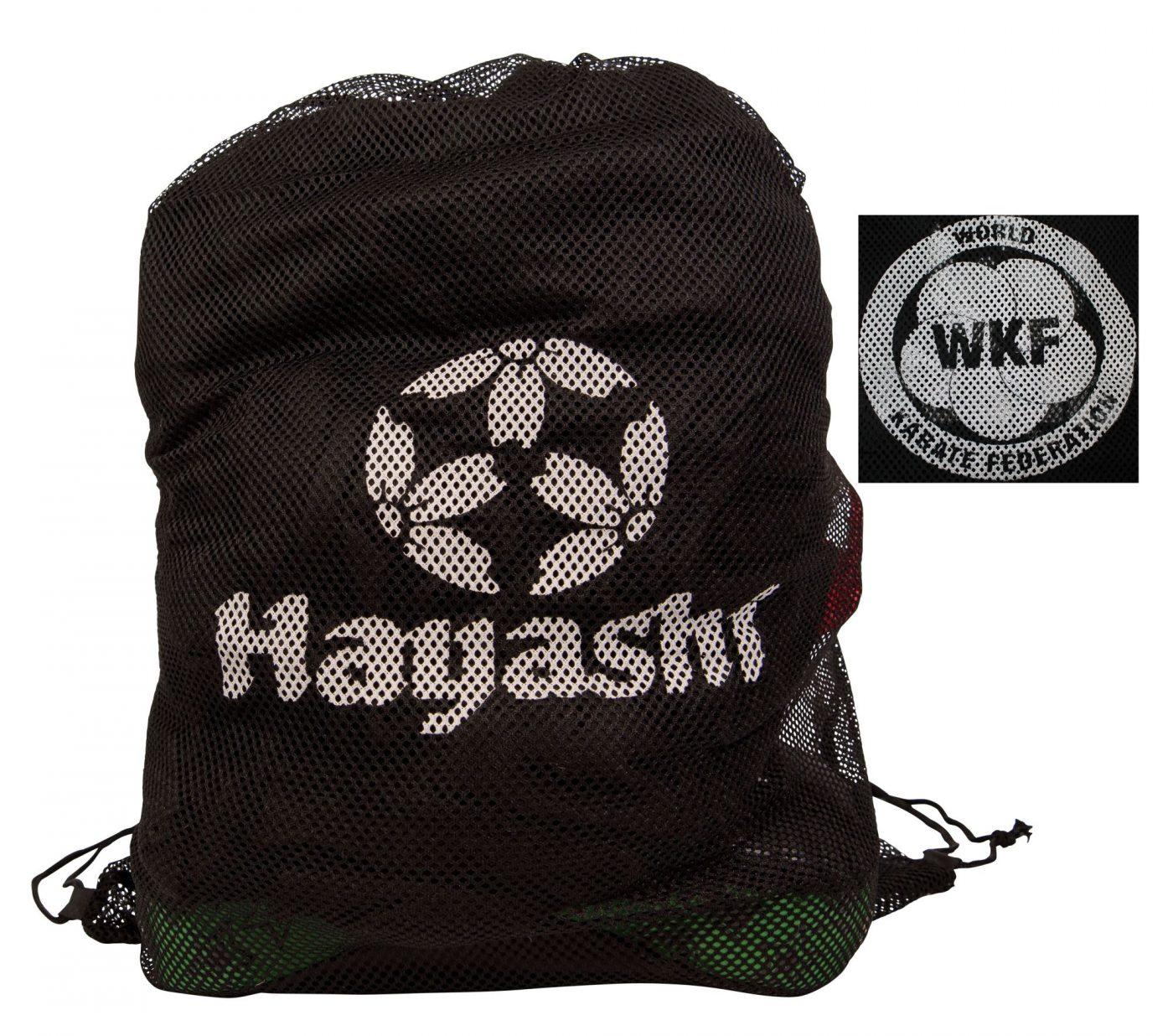 "Hayashi Mesh tas ""WKF"" Zwart"