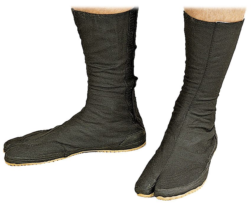 Ninja Tabi schoenen Zwart