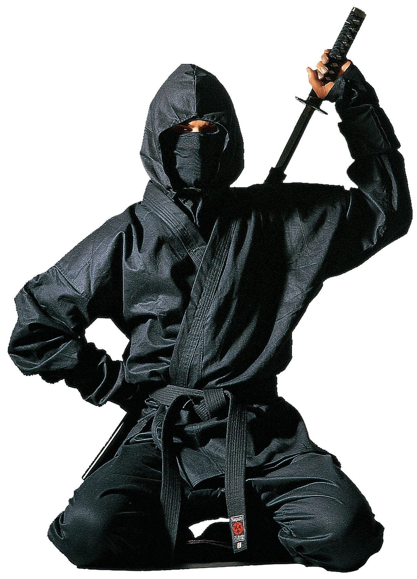 """Hayashi Ninja uniform """"Kendo"""" met accessoires Zwart"""