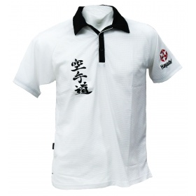 "Hayashi Polo Shirt ""Karate-Do""  Dry Fit Wit"