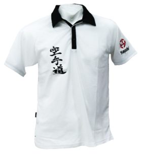 "Polo Shirt ""Karate-Do""  Dry Fit Wit"