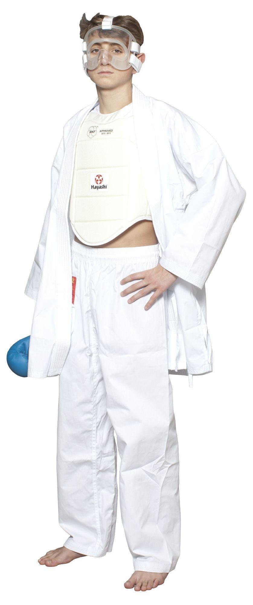 Hayashi Gezichtsmasker (WKF approved) Transparant