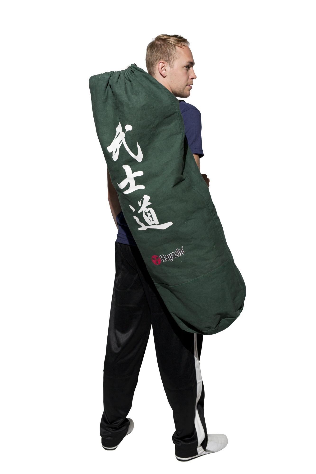 """Hayashi Sailor's kit bag """"Bushido"""" DarkGroen"""