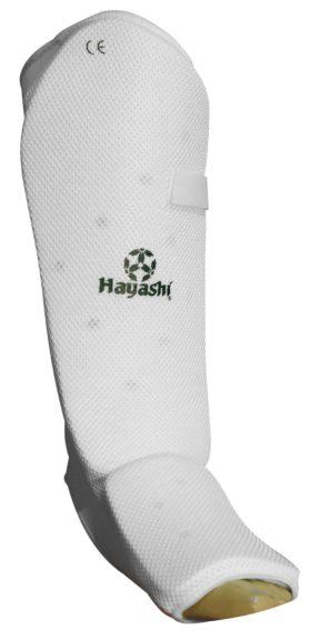 Hayashi Scheen/wreefbeschermer voor volwassenen (Wit)