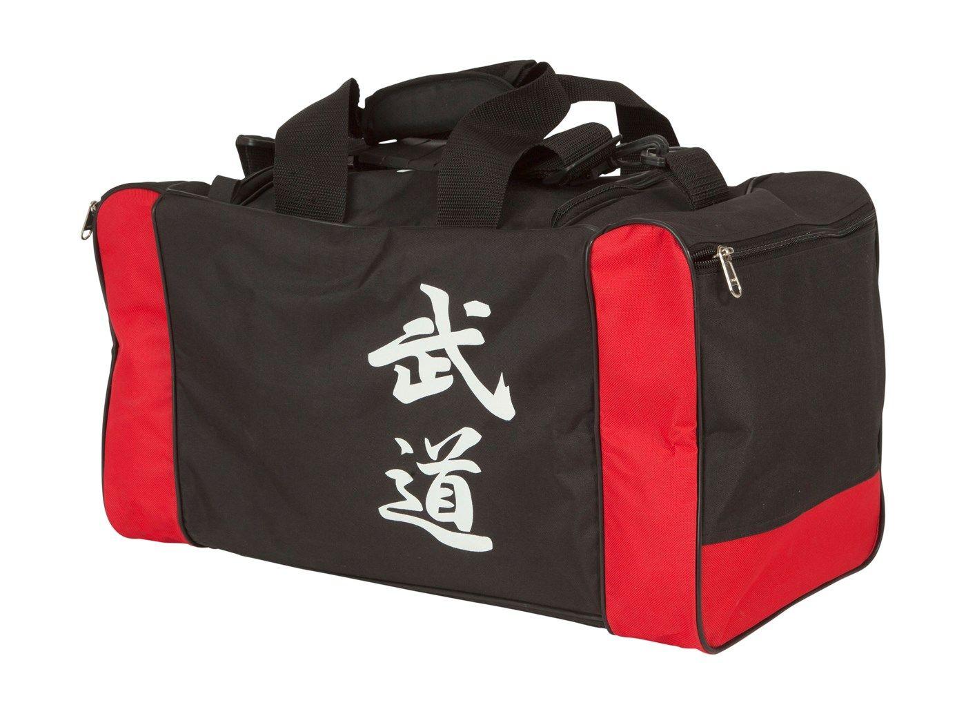 "Hayashi Sporttas ""Bushido"" Zwart - rood"