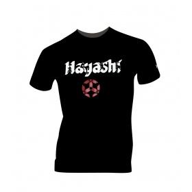 "Hayashi T-Shirt ""Fighter"" Zwart"