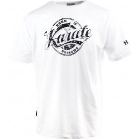 """Hayashi T-Shirt """"Karate"""" Wit"""