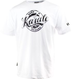 "T-Shirt ""Karate"" Wit"