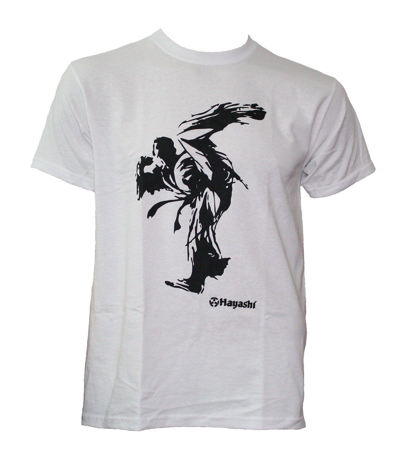 "Hayashi T-shirt ""Kick"" Wit"