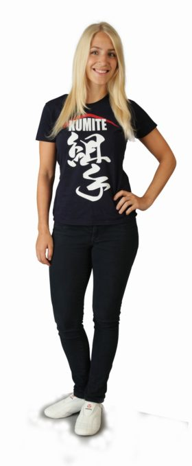 """Hayashi T-Shirt """"Kumite II"""" Donker blauw"""
