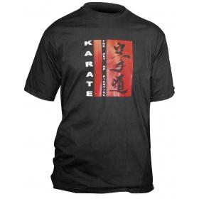 """Hayashi T-Shirt """"The Art Of Fighting"""" Zwart"""
