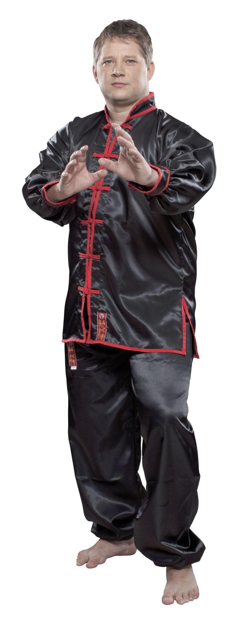 Tai Chi/Wushu Uniform Zwart