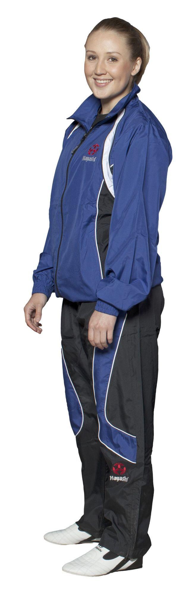 Hayashi Trainingspak Blauw - Zwart
