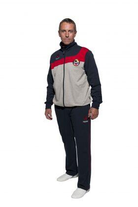 """Hayashi Joggingpak """"WKF"""" voor volwassenen Blauw - Grijs"""