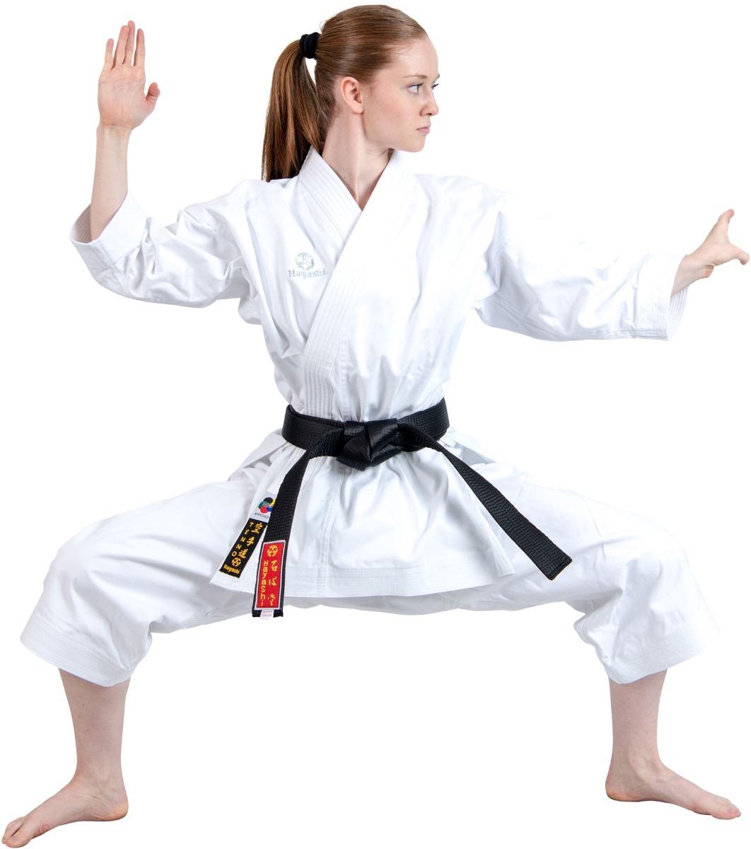 """Hayashi Karatepak """"TENNO"""" (WKF approved) Wit"""