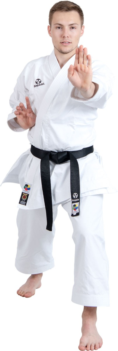 """Hayashi Karatepak """"TENNO PREMIUM II"""" Wit"""