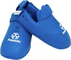 Karate voetbeschermers (WKF approved) Blauw