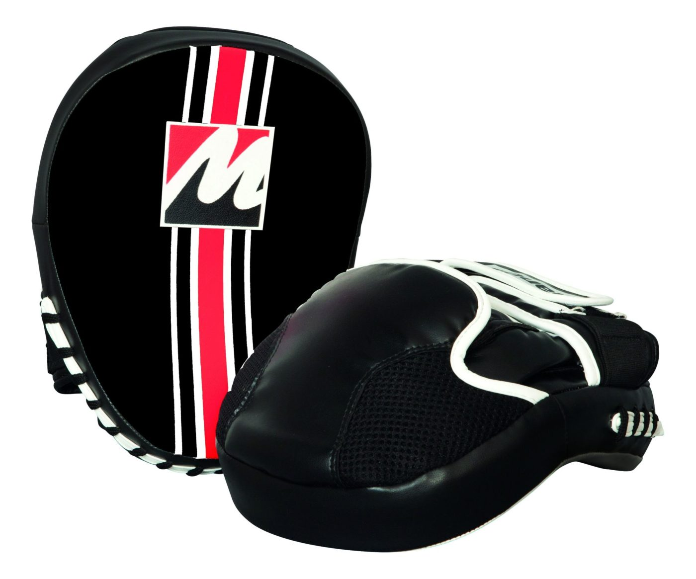 "Manus Focus Mitt ""Edition zwart"" Zwart - rood"