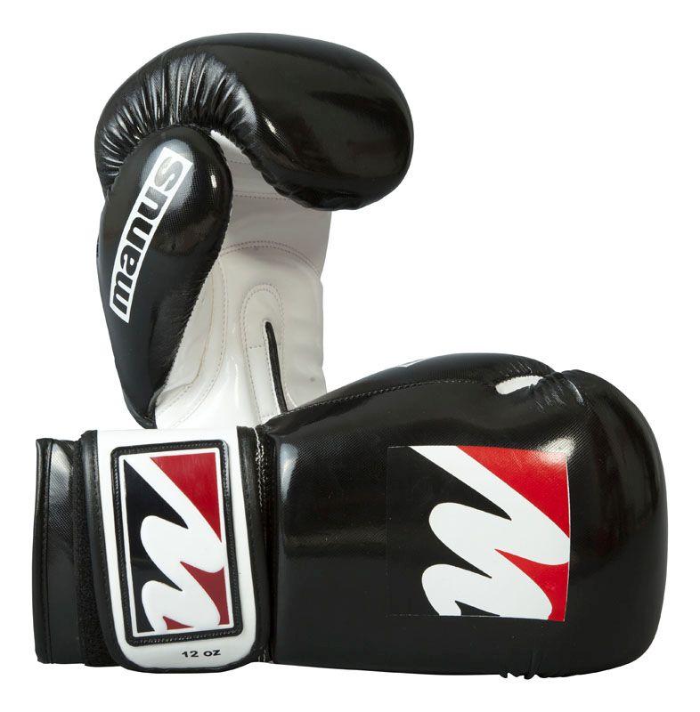 Manus sparringshandschoenen Zwart - Wit