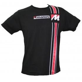 Manus T-Shirt Zwart