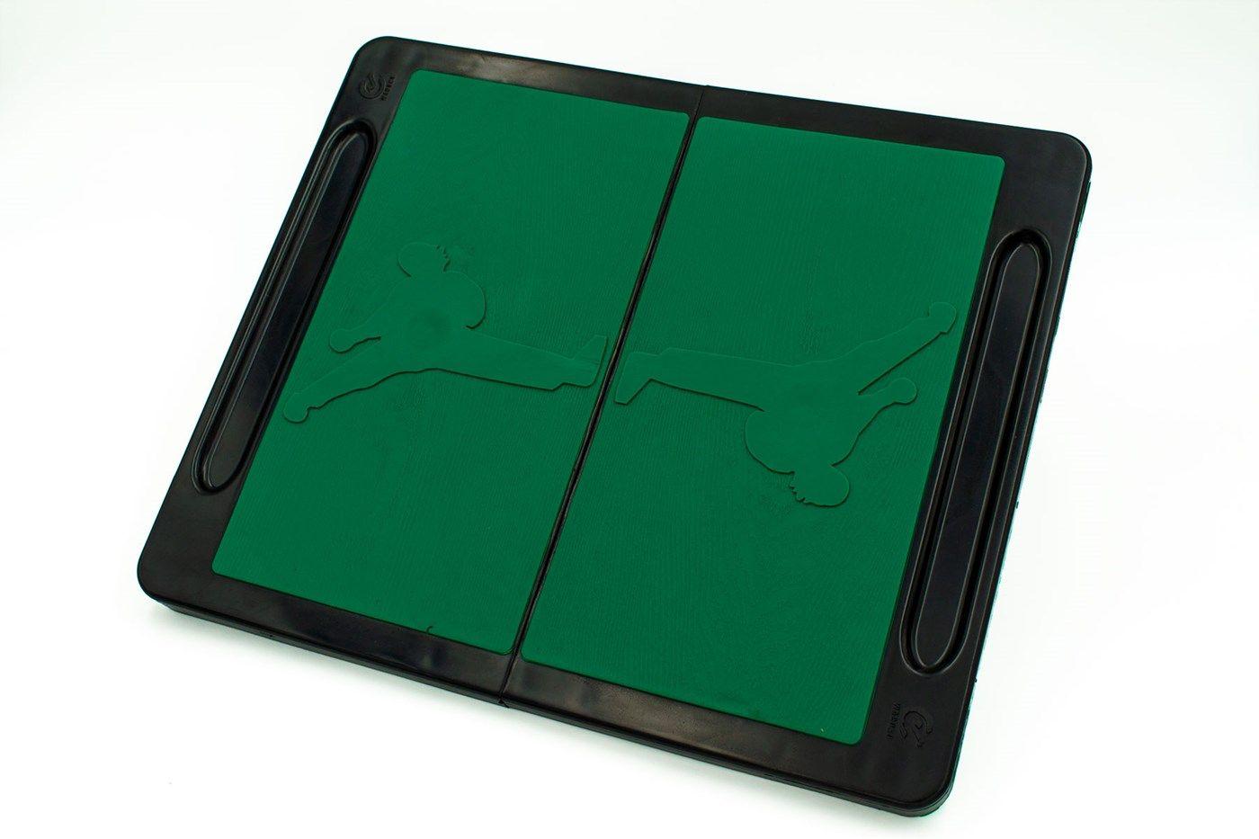 Herbreekbare plank Groen
