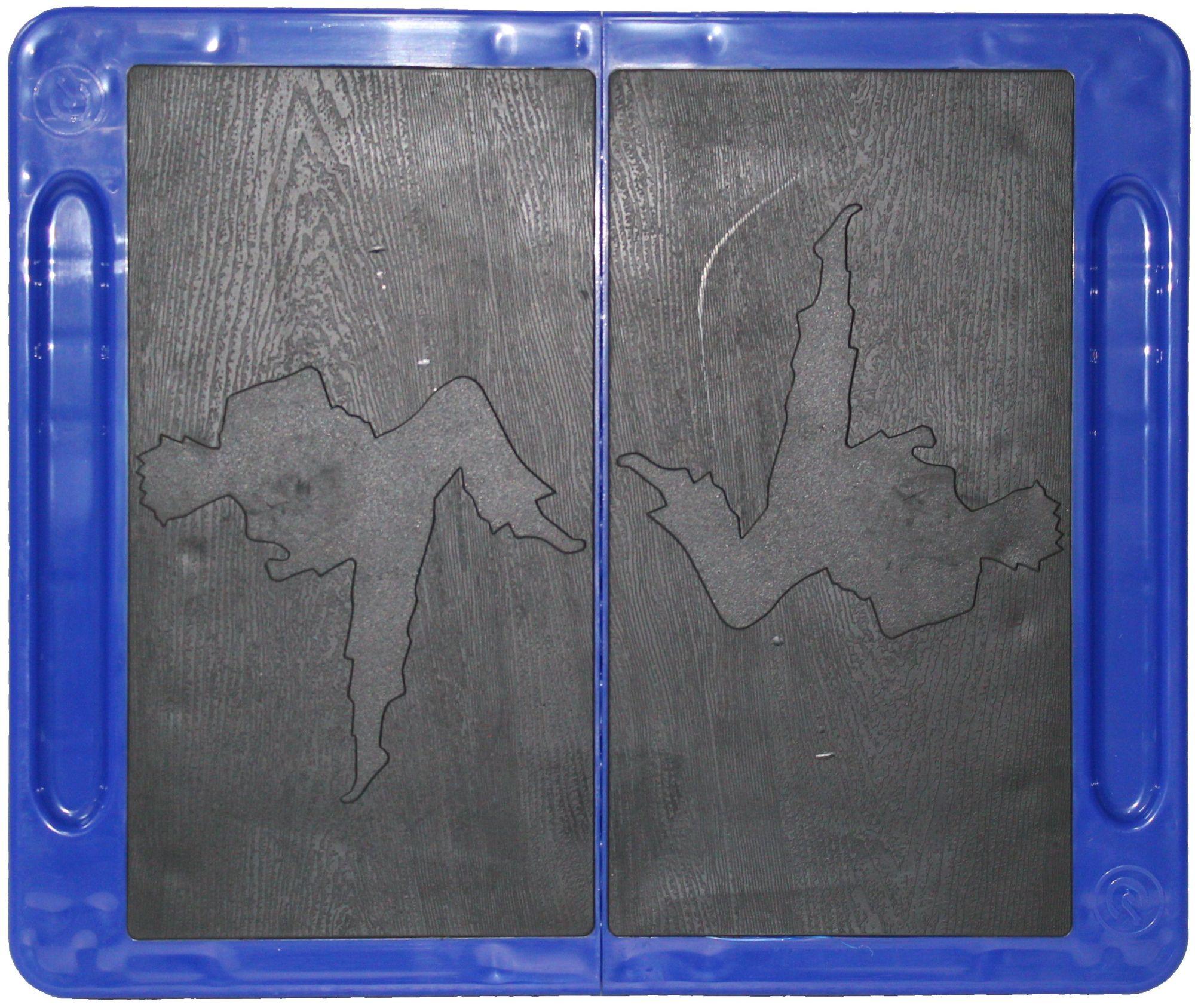 Herbreekbare plank Geel