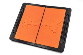 Herbreekbare plank Oranje
