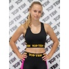 TOP TEN Sport BH Fitness Zwart - goud