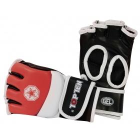 TOP TEN MMA MMA handschoenen voor amateur wedstrijden Rood - Wit