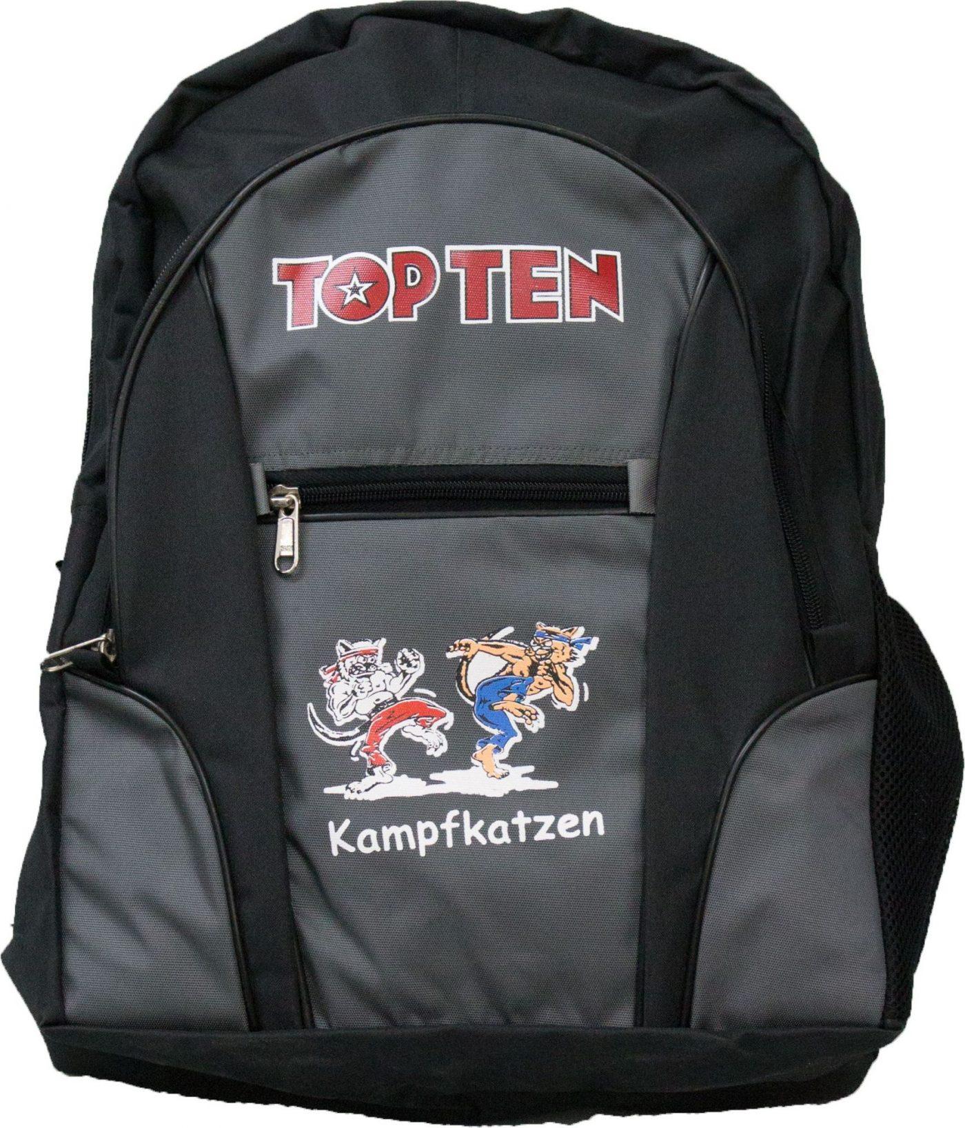 """TOP TEN Rugtas """"Kampfkatzen"""""""