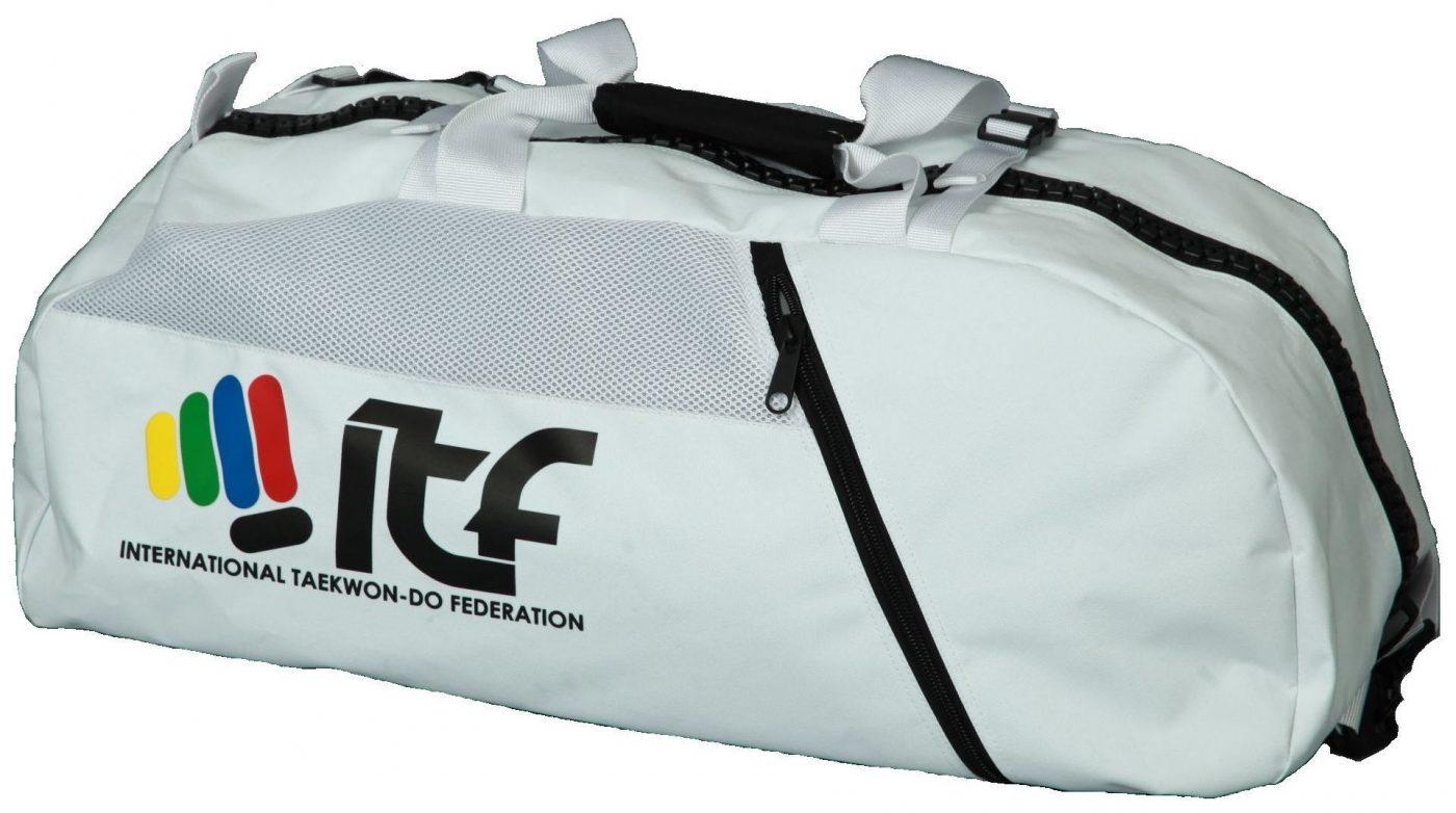 """Rugtas / Sporttas """"ITF"""" Wit"""