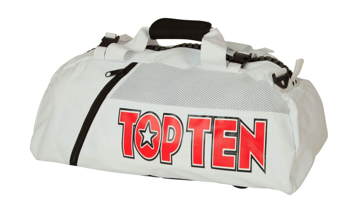 """TOP TEN Rugtas / Sporttas """"ITF"""" Wit"""