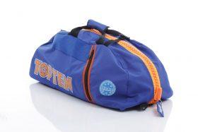 "Rugtas / Sporttas ""WAKO"" Blauw - Oranje"