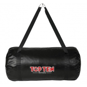 "TOP TEN Training bag ""Uppercut"" gevuld (Zwart)"