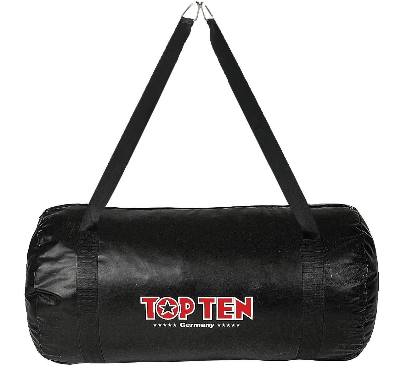 """TOP TEN Training bag """"Uppercut"""" gevuld (Zwart)"""