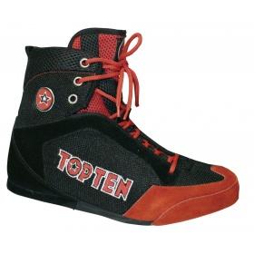 TOP TEN Boksschoenen Zwart - rood