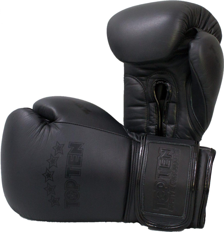 "Bokshandschoenen ""zwart'n'zwart"" Zwart - Zwart"