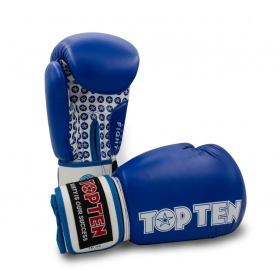 """TOP TEN Bokshandschoenen """"Fight"""" Blauw"""