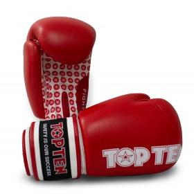 """TOP TEN Bokshandschoenen """"Fight"""" Rood"""