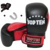 Bokshandschoenen Starter Kit incl. Mouthguards en Bandages Zwart - rood