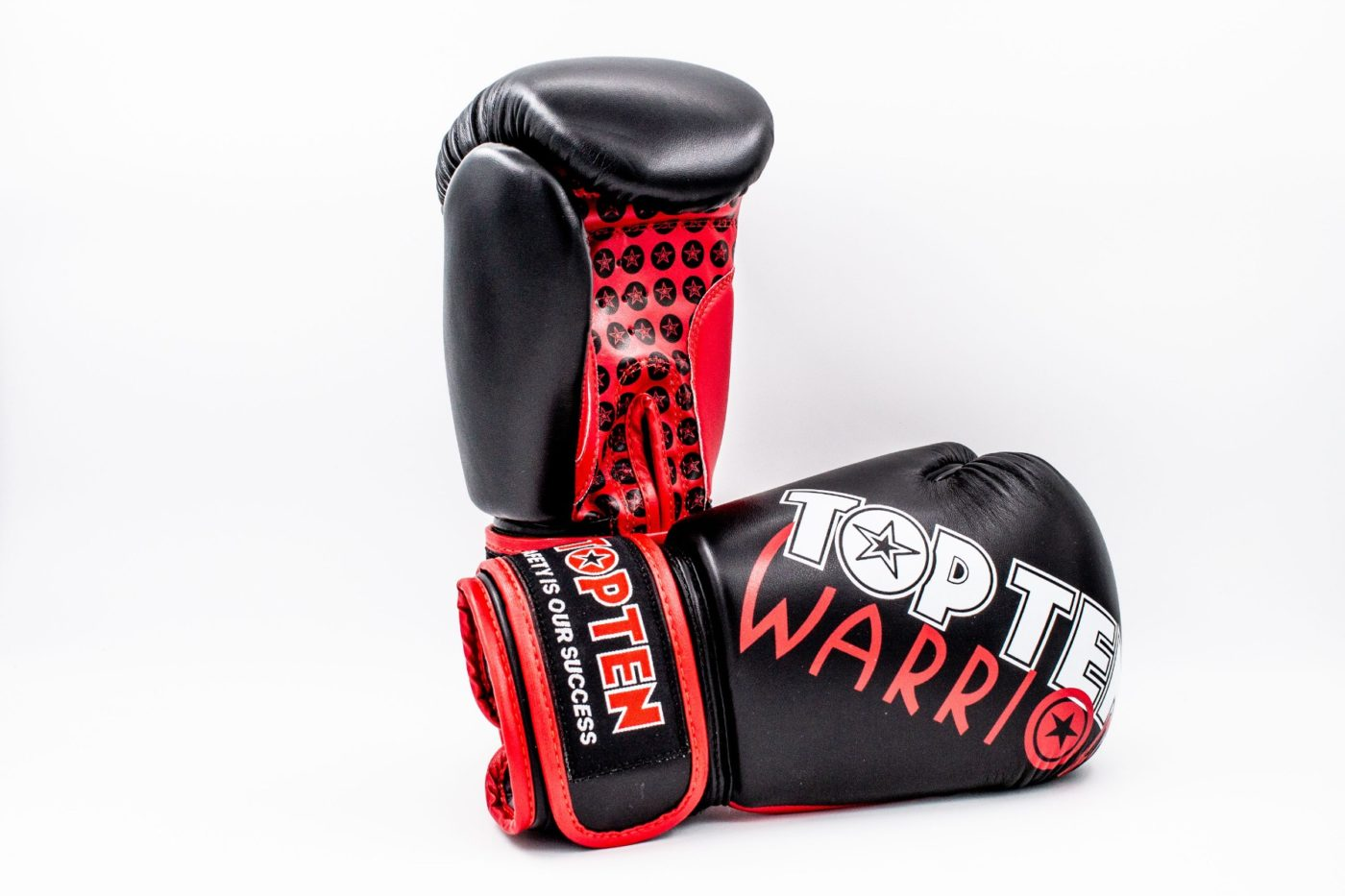 "TOP TEN Bokshandschoenen ""Warrior"" Zwart"