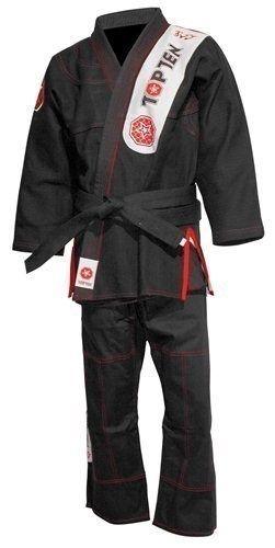 Brazilian Jiu Jitsu (BJJ) Gi Zwart