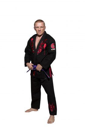 "Brazilian Jiu Jitsu (BJJ) Gi ""Samurai"" Zwart"