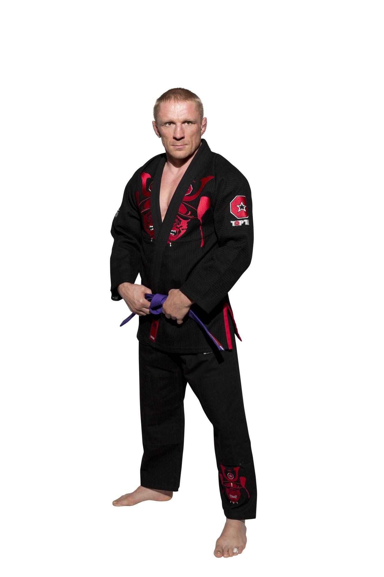 "Brazilian Jiu Jitsu Pak ""Samurai"" (Zwart)"